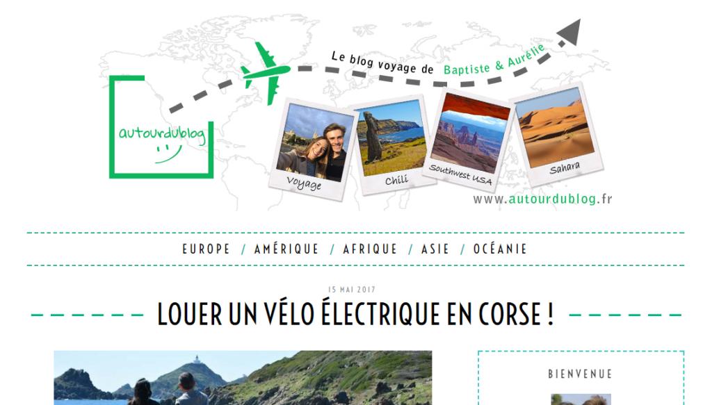 Louer un vélo électrique en Corse - Autour du blog