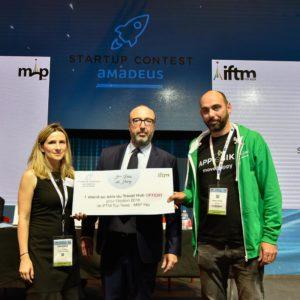 APP.eBike élue parmi les 3 startups les plus innovantes dans le tourisme au salon international du tourisme de Paris IFTM