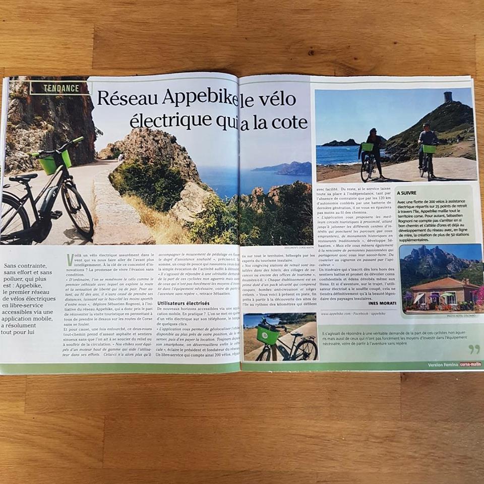 Femina : Réseau APPebike, le vélo électrique qui a la cote
