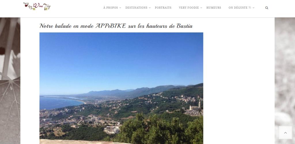 Découvrir Bastia et la Corse en vélo électrique avec APPebike