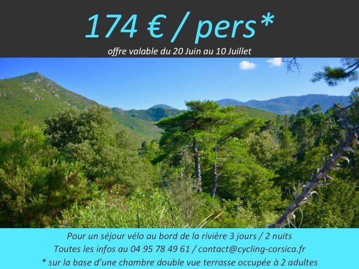 week-end à vélo électrique à Venaco dans le Centre Corse AppeBike